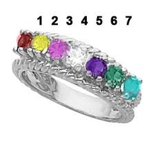 7 mothers ring mothers ring sterling silver 7 4196 goldfingers gifts