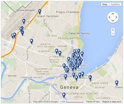 geneva map map of hotels in geneva geneva info
