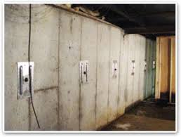 basement wall systems stability with wall anchors by jes