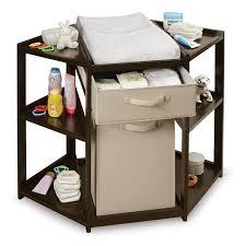 Badger Basket Armoire Badger Basket Diaper Corner Baby Changing Table With Hamper And