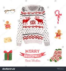 ugly sweater christmas card template cashmere sweater england