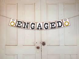 congratulations engagement banner best 25 engagement banner ideas on engagement party