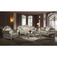 meridian 652 s marquee pearl leather sofa