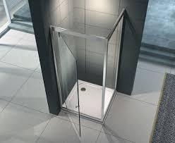 box doccia cristallo 80x80 box doccia due lati anta fissa e porta battente serie genesis in