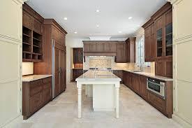 Natural Wood Kitchen Island 43