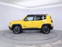 jeep yellow 2017 used 2017 jeep renegade trailhawk suv for sale in hollywood fl