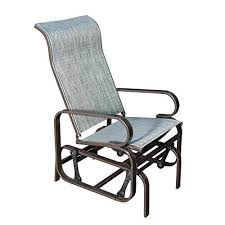 steel rocking chair hand made steel and leather leaf spring