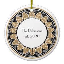art deco christmas decorations u0026 christmas décor zazzle co uk