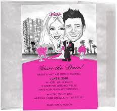 Bridal Invitation Cards Unique Custom Caricature Wedding Bridal Party Invitations Custom