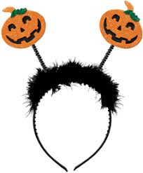 glitter jitter halloween bobble pumpkin headband costumes and