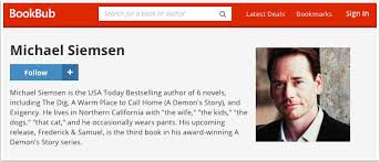 20 fantastic bookbub author profile exles