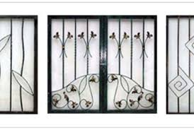 pin door grills ornamental wrought iron decorative on