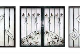 pin door grills ornamental wrought iron decorative on