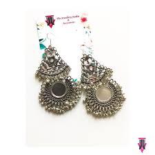 chandbali earrings online buy mirror chandbali earrings online from the jewellery junkie