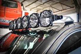 toyota tacoma light bar roof mount kc hilites gravity led pro6 8 light led light bar for toyota tacoma