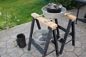 lodge dutch oven table a new hobby dutch oven cooking and a table too the fly fishin