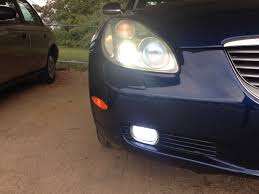 lexus es300 xenon lights sc430 hid fog lamp clublexus lexus forum discussion