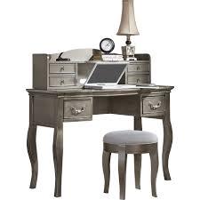 Queen Anne Secretary Desk by Vanity Writing Desk Antique Silver