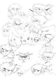 tutorial menggambar orang dengan pensil 11 langkah cara menggambar wajah pria ala manga