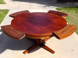 expandable round dining room tables wonderful expanding round dining room table ideas tio with wooden