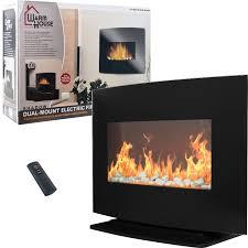 Electric Fireplace Heater Crofton Electric Fireplace Heater Home Fireplaces Firepits