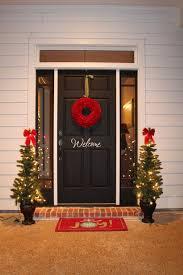 Christmas Outdoor Decoration Ideas by Front Doors Best Coloring Modern Front Door Wreath 126 Modern