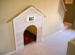 under stair pet bed by stylecraft homes so adorable and such a