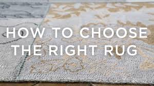 West Elm Rug Reviews How To Choose The Right Rug A Guide From West Elm Youtube