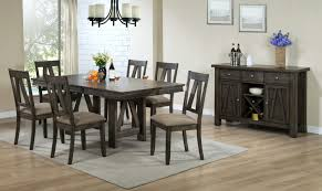 Espresso Dining Room Set Thompson 5 Piece Dining Room Set Espresso Leon U0027s