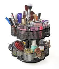 makeup gift baskets makeup carousel organizer in cosmetic organizers