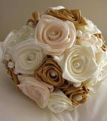 satin roses sale special offer price 40 handmade bridal bouquet of