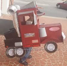 Truck Driver Halloween Costume Homemade Peterbilt Truck Halloween Costume Toddler