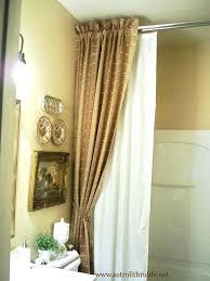 bathroom curtain ideas for shower designer shower curtains 424 designer shower curtain ideas new