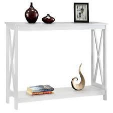 convenience concepts console table oxford console table white white convenience concepts target