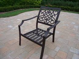 Stackable Aluminum Patio Chairs by Patio Sets