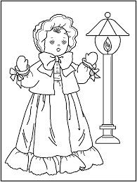 free printable doll coloring pages kids teachers