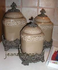 heritage 4 piece canister set metals antiques and canister sets