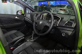 family car interior proton iriz interior at the 2014 thailand international motor expo