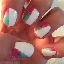 kaleidoscope nail design beginnersnailart u0027s blog