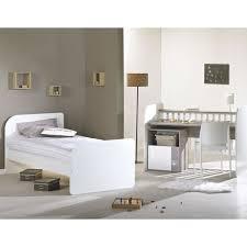 chambre evolutive sauthon sauthon lit combiné evolutif bébé couchage 70x140 cm blanc et