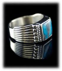 silver rings for men turquoise rings by durango silver