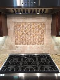 kitchen beautiful stone tile kitchen backsplash basket weave
