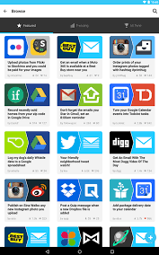 ifttt android ifttt updated for android with 20 new channels slashgear