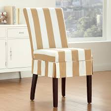 Slipcover For Dining Room Chairs Dining Room A Gorgeous Dining Room Chair Slipcovers With Brown