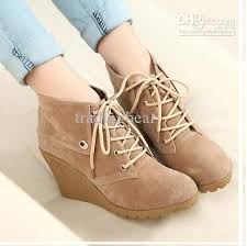 womens boots wholesale wholesale boots buy lace up wedges heel brown boots winter