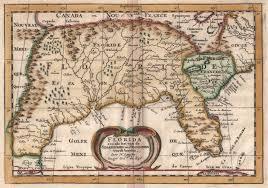 Ou Map Antique Map Sanson Texas To Florida