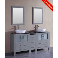 bosconi agr230bwlbg1s universal gray double basin bathroom vanity