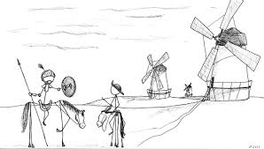 don quixote vs the windmills hp stick version comic hp comics