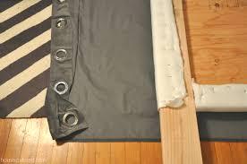 How To Make Headboard How To Make A Nailhead Upholstered Headboard House Updated