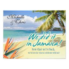 wedding invitations jamaica jamaican wedding invitations announcements zazzle